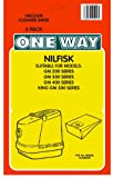 3 x NILFISK, GM 200, 300, 400, King GM 500 + more Vacuum Bags