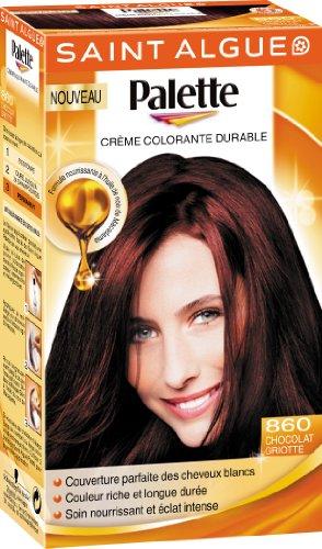 4 saint algue palette coloration permanente chocolat griotte 860 - Coloration Phmre