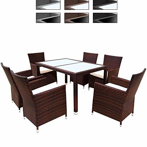 Salotto giardino tavolo sedie giardino salotto esterno - Sedie giardino rattan ...