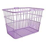 Sunlite Standard Mesh Bottom Light-Off Basket w/ Bracket, Purple