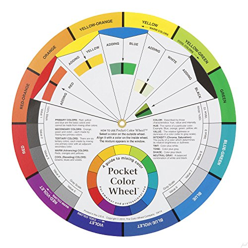 Galleon - Color Wheel Pocket Guide With Gray Scale Value ...