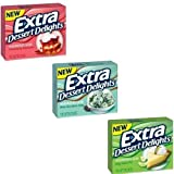 #3: Wrigley's EXTRA DESSERT DELIGHTS chewing gum: 2x Mint Chocolate Chip, 2x Strawberry Shortcake, 2x Key Lime Pie