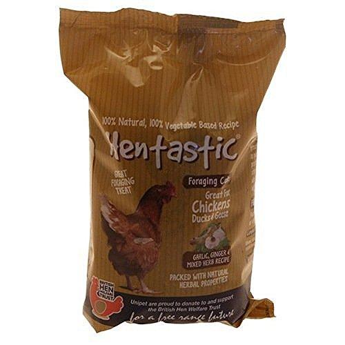 Friandises Hentastic Foraging à l'Ail & Gingembre pour les poulets 350g