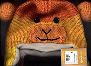 Kyber Yellow Sock Monkey Children Hat