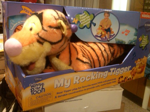 Disney My Rocking Tigger Musical Kids Rocker