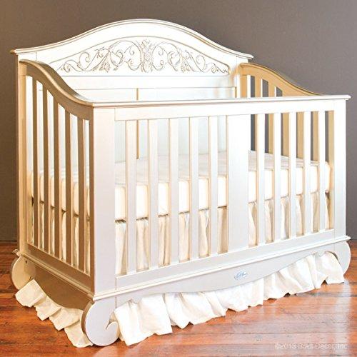 Bratt Decor chelsea lifetime crib antique silver 0