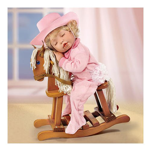 Baby Girl Rocking Horse back-629394