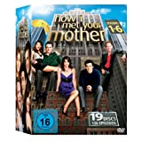 "How I Met Your Mother Komplettbox, Seasons 1-6 (exklusiv bei Amazon.de) [19 DVDs]von ""Josh Radnor"""