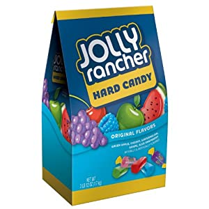 Jolly Rancher Hard Candy, Original Flavors, 3.75-Pound Bags (Pack of 2)