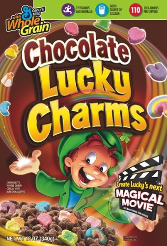 Buy Chocolate Lucky Charms Cereal, 12-Ounce Box (Pack of 6) (Lucky Charms, Health & Personal Care, Products, Food & Snacks, Breakfast Foods, Cereals)