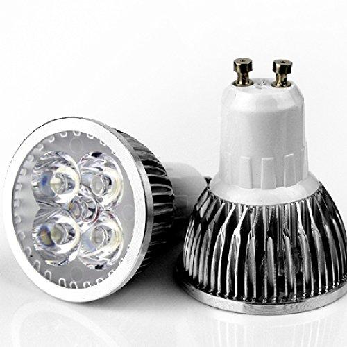 4Pcs Mr16 Gu10 E27 E14 Rgb Led Bulb Light Spot Lamp Gu10 4W(85-265V) Warm White