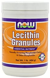 NOW Foods Lecithin Granules, 1 Pound