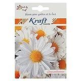 Chrysanthemum Paludosum Seeds (50 Seeds, White, 15 cm) by Kraft Seeds