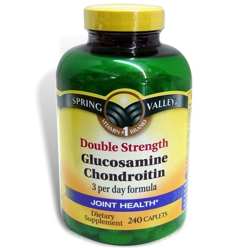 Spring Valley - Glucosamine Chondroitin, Double Strength, 1500 Mg, 240 Caplets