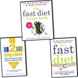 Michael Mosley Mimi Spencer Fast Diet 3 Books Collection Pack Set RRP £33.97 (The Fast Diet, The Fast Diet Recipe Book, The 2-Day Diet)