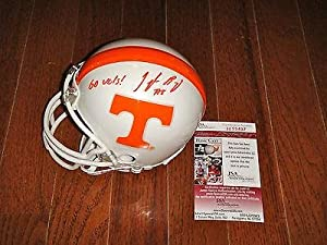 Tyler Bray Signed Go Vols! Tennessee Volunteers Helmet - JSA Certified - Autographed... by Sports+Memorabilia