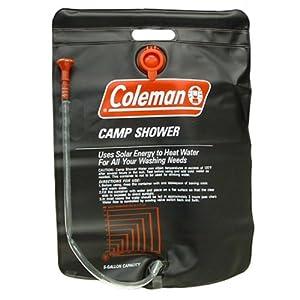 Coleman 5-Gallon PVC Camp Shower