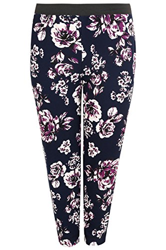 yoursclothing-plus-size-womens-navy-multi-old-rose-print-harem-trousers-size-22-navy