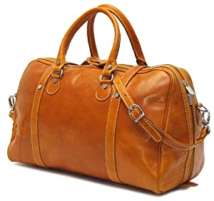 Floto Luggage Trastevere Duffle Leather Weekender by Floto Imports