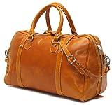 Floto Luggage Trastevere Duffle Leather Weekender