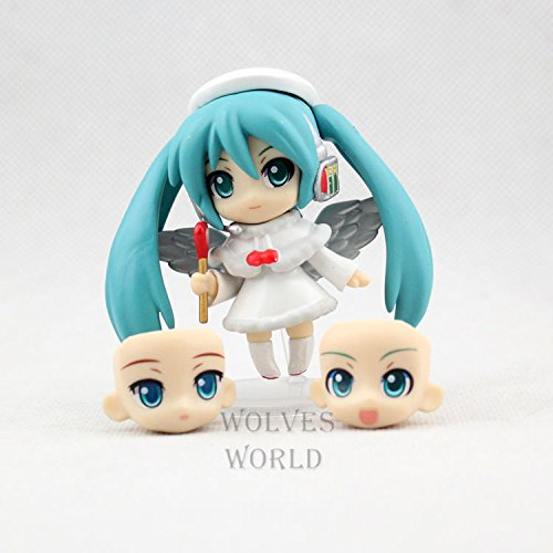 Run Far Nendoroid Japan Anime Figure Q-Version Clay Angels Hatsune Miku Doll PVC Action Figure Model Doll Toys Brinquedos Drop Shipping