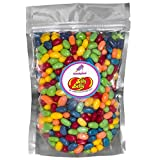 Jelly Belly Sugar Free Sours Jelly Beans 2lb -32oz (2 pound) Sugar free candy in sealed Stand up Bag