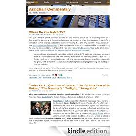 Amazon's Armchair Commentary Blog