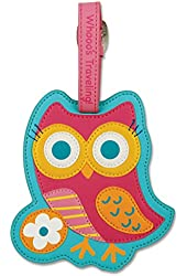 toys Luggage Owl Tags