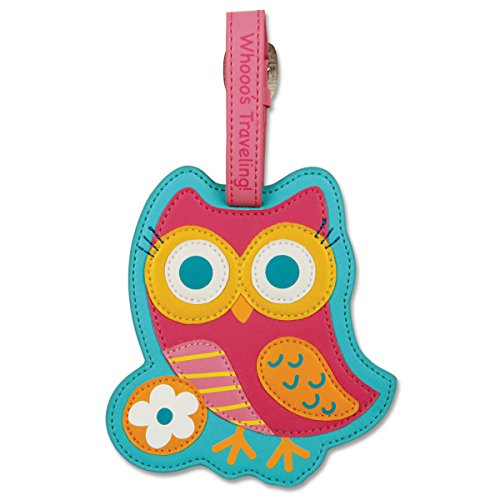 Stephen Joseph toys Luggage Owl Tags