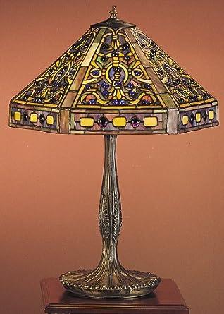 Tiffany Elizabethan Table Lamp Floor Lamps Amazon Com