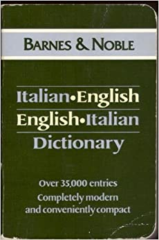 Italian English English Italian Dictionary (Language