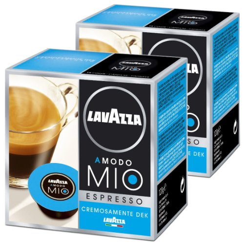 lavazza a modo mio cremosamente dek pack of 2 2 x 16 capsules. Black Bedroom Furniture Sets. Home Design Ideas