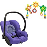 Maxi Cosi Mico Max 30, Purple Pace with Tiny Love Sunny Stroll Arch