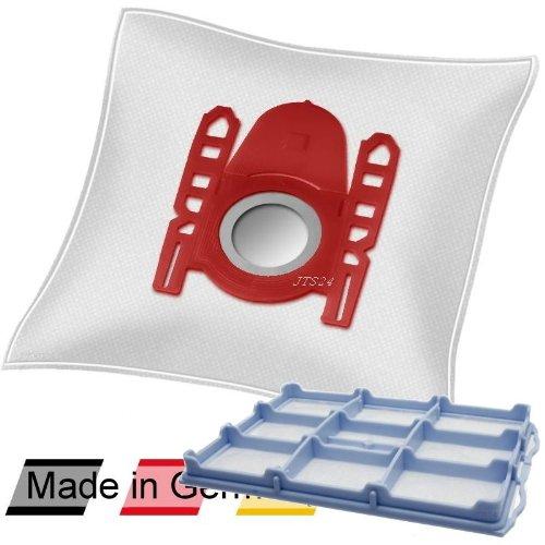 10 DeClean Staubsaugerbeutel +1 Motorschutzfilter für Siemens Synchropower 1800W parquet VS06G1824/03 und VS06G1803/03