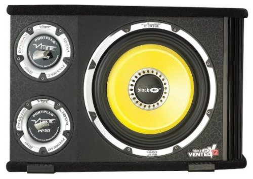 Vibe Audio Blackair12 Blackair Black Air Vented V12 12