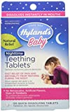 Hyland's Baby Nighttime Teething Tablets, Natural Baby Teething Pain and Irritability Relief, 135 Count