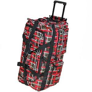 Borderline Large 27 Inch Wheeled Holdall Bag from Borderline