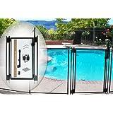 Life Saver GATE48-DIY DIY Pool Fence Gate, 48-Inch, Black