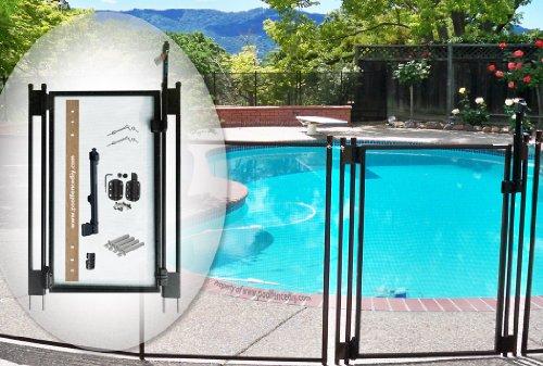 pool-fence-diy-by-life-saver-self-closing-gate-kit-black