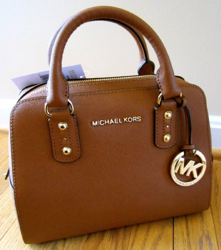 Michael Kors Small Satchel Saffiano Luggage Leather