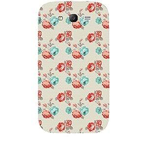 Skin4gadgets TROPICAL FLOWERS PATTERN 17 Phone Skin for SAMSUNG GALAXY GRAND (I9082)