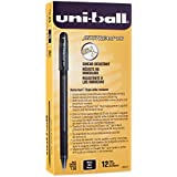 uni-ball Jetstream 101 Rollerball Pens, Bold Point, Black Ink, Pack of 12