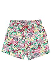 Chirpie Pie by Pantaloons Girl's Cotton Shorts (205000005657518, Multi-Coloured, 6 - 9 Months)