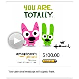 Amazon Gift Card - E-mail - Hoops and Yoyo You Are Awesome (Animated) [Hallmark]