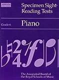 Specimen Sight-reading Tests: Grade 6: Piano
