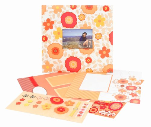 CR Gibson All Occasion Floral Complete Scrapbook