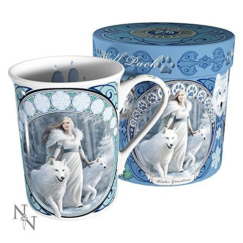 Tazza Winter Guardians Dainty Nemesis Now (Bianco)