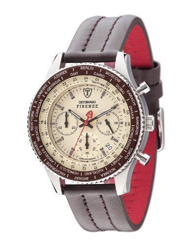 detomaso-mens-firenze-quartz-watch-with-beige-dial-chronograph-display-and-brown-leather-bracelet-sl