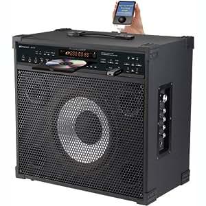 NEW EMERSON DV121 PROFESSIONAL CD+G/MP3+G KARAOKE PLAYER & GUITAR AMPLIFIER (HOME AUDIO)