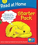 Roderick Hunt Read at Home Starter Pack, Oxford Reading Tree - Levels 1 -2, The Snowman, Picnic Time, Mums New Hat, Super Dad, The Monster Hunt, Ouch!